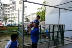Via Vespucci con i poliziotti di quartiere